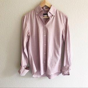 Jcrew Lavender Button Down Dress Shirt